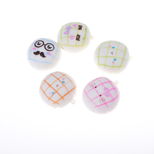 1pcs Hot Sell Safety 5.5cm Cute Squishy Buns Bread Shape Pendant Phone Charm To Phone Bag Toy Play House Toys(China)