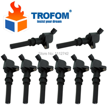8 Pcs Auto Ignition Coil For Ford E-150 E-250 E-350 E-450 E-550 F150 F250 F350 CROWN MUSTANG EXPEDITION LINCOLN MERCURY MG ROVER