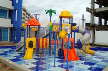 Water Park Playground Equipment CE Certified Kids Amusement Park System Rubber Coating 11DW-03(China)