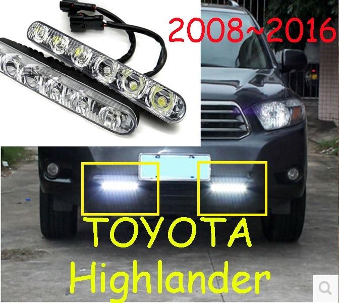Highlander daytime light,prado fog light,LED,Free ship!2pcs,cruiser fog light,chrome,VELA,Crown,VIZI,HILUX vigo,innova,<br><br>Aliexpress