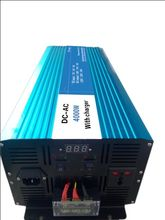 FREE SHIPPING 3000W UPS 12V/24V/48V TO 110V/230V PURE SINE WAVE POWER INVERTER CONVERTER WITH BATTERY CHARGER Adaptor CABLE(China)
