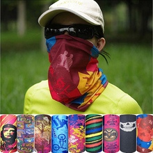 Cycling Fishing Camping Hiking Climbing Windproof Quick Dry Camouflage Bandana Neck Gaiter Scarves Bape Face Mask Wraps Headwear(China)