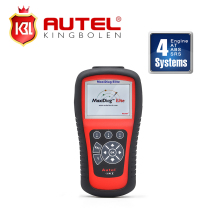 100% Original Autel Maxidiag Elite MD802 4 System 4 IN 1 Code Scanner MD 802 (MD701+MD702+MD703+MD704)  + DS Model
