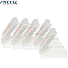 5Pcs PKCELL Holder Case Plastic Portable Box For AA AAA Rechargeable / Primary Battery