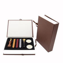 Customised Sealing Wax Set Wax Seal Kit Hobby Lobby for DIY Postal Envelope Letter Decoration(China)