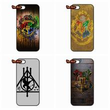 Harry Potter Badges Logo Phone Cover Case For LG Google Nexus 5 D820 D821 E980 Huawei Ascend P6 P6S P7 P8 Lite Honor 6 Mate 8