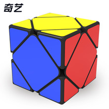 Qiyi QiCheng Skewb Speed Magic Cube 2 on 2 Speed Cube Magic Bricks Block Brain Teaser New Year Gift Toys for Children(China)