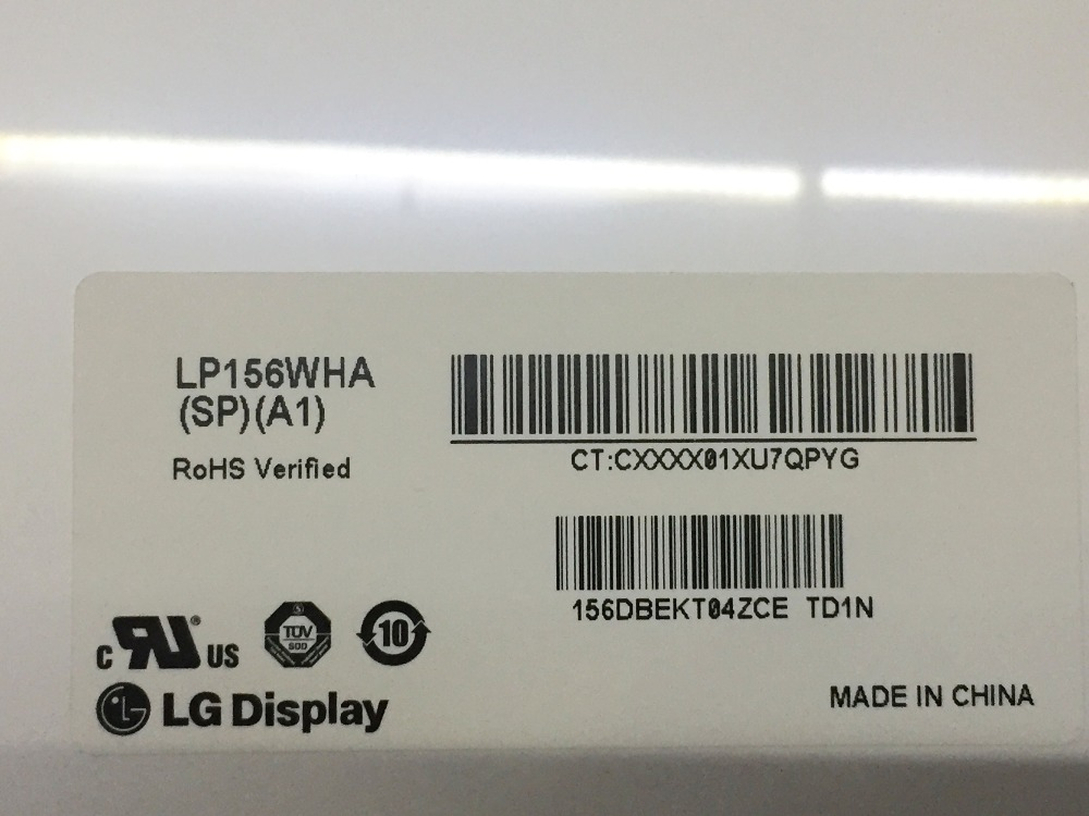 LP156WHA-SPA1 LP156WHA SP A1 LP156WHA (SP)(A1) LED Display LCD Screen Matrix for Laptop 15.6 1366X768 30Pin Glossy replacement