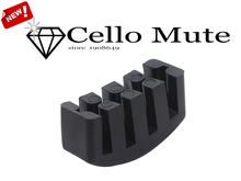 Muse-1pcs Five Claw Heavy Rubber Cello practice mute 5 claw rubber cello mute Black rubber mute cello practice mute(China)