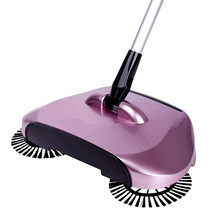 Use Manual of Magical Telescopic Mop Broom 360 Rotary Floor Sweeper Powder With adjustable handle Easy operation Jun16(China)