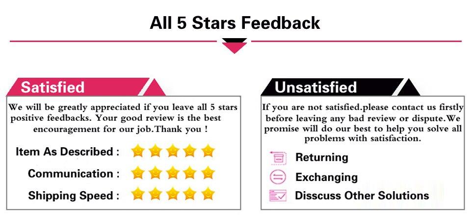 8 feedback