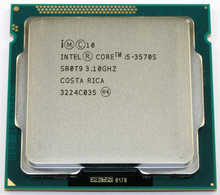 Intel Core I5 3570S Processor Quad-Core 3.1GHz L3=6M 65W Socket LGA 1155 Desktop CPU working 100% + Free Shipping