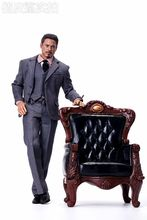 1/6 Sofa Executive Chair for 12inch Phicen Hottoys Verycool Action Figure Sence DIY