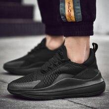 watch 91510 829d1 2019 marque chaussures décontractées nouvelle maille baskets hommes à lacets  bas coupe confort formateurs hommes chaussures poid.