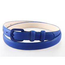 New Fashion Women Genuine Leather Belt Straps Skinny Leather Belts Female Ladies Jeans Pants Belt Casual Straps Black Blue White(China)