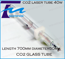 Hight Quality 700MM 40W Co2 Glass Laser Tube for CO2 Laser Engraving Cutting Machine diameter 50mm