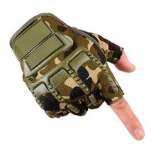 4 Colors Men's Cycling Gloves Fighting Combat Half Finger Gloves Anti-slip Outdoor Sport Gloves Military Tactical Gloves