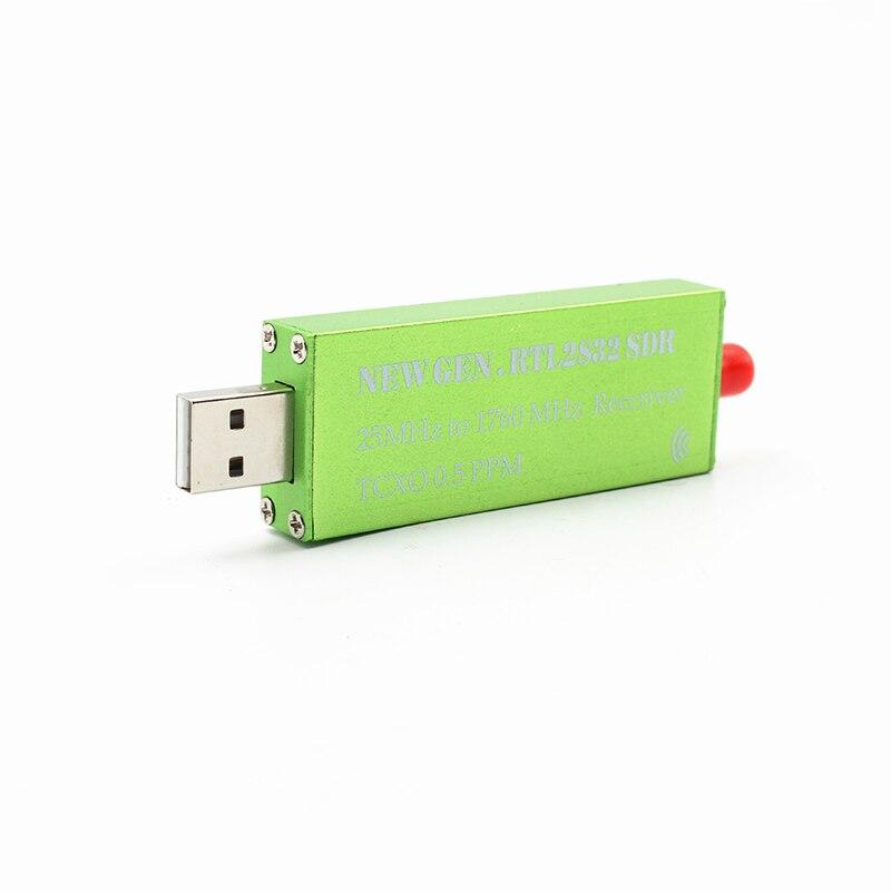 DOITOP USB RTL-SDR Receiver 25 MHz-1760 MHz Receiver TCXO 0.5 PPM SDR AM/NFM/FM/DSB/USB/L USB Tuner Receiver RTL2832U A3