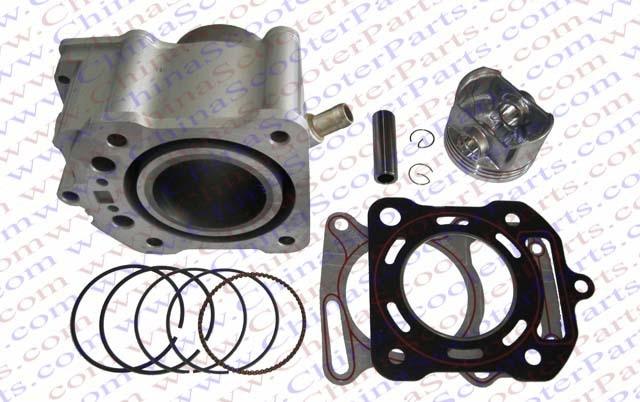 67mm Cylinder Piston Ring Gasket Kit Water 250CC Zongshen Shineray Bashan Taotao  Dirt Bike Pit Bike ATVs Quad<br><br>Aliexpress
