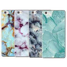 The hottest and most popular Anti falling mobile phone cover Marble Image Coque Case For Huawei P8 P8 Lite P9 P9 Lite 2017