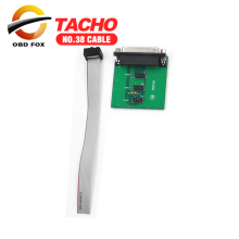 No. 38 Adapter 93cx6 for Tacho Universal 0705 OK Tacho pro 2008 38 cable free shipping