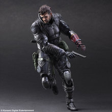 "SQUARE ENIX 1/6 scale doll model Metal Gear Solid SNAKE.figure doll model.12"" action figure doll.Collectible Figure"