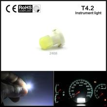 T4.2 LED 3D Car Board Instrument Panel Bulb lamp DC 12V instruments Light bulbs(China)