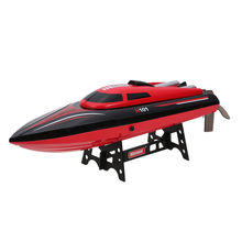 H101 2.4G Remote Controlled RC Boat Toys 180 degree Flip 25KM/H High Speed Electric RC Racing Boat Ship Speedboat High Quality(China)
