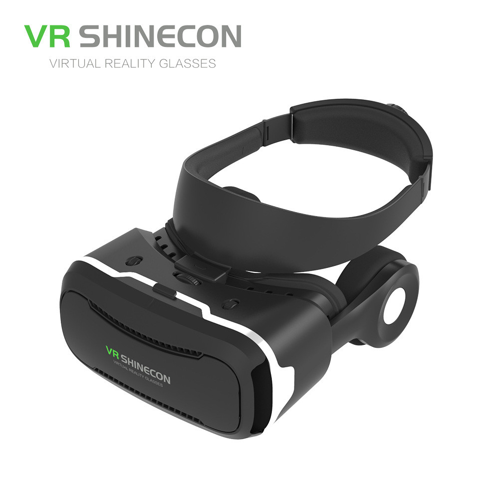 Excellent VR Shinecon Comfortable VR Box with Headset Luxury VR Box With Bluetooth Controller For Android<br><br>Aliexpress