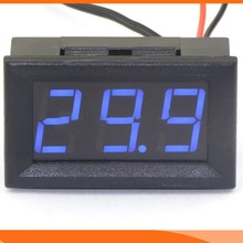 Hot Waterproof Indoor Outdoor Probe Blue LED Temperature Monitoring Meter New(China)