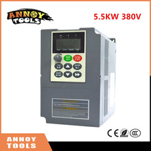 High Quality 380V 5.5kw 13A Frequency Drive Inverter CNC Driver CNC Spindle motor Speed control,Vector converter(China)