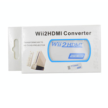 Special Offer Male-female For Wii To Hdmi Adapter Converter Support 720p 1080p Jack 3.5mm Audio For Wii2hdmi Hdtv Monitor