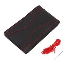 3 Types1 Set DIY Leather Car Auto Steering Wheel Cover With Needles And Thread Accessories Car-styling Hot Selling
