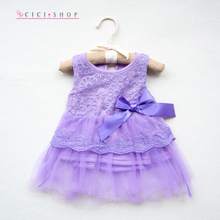 DS2 0-12M Summer Beautiful Sweet Girls Flower Princess Party Lace Gown Wedding Prom Dress Baby Dress Bebe Baby Toddler Clothing