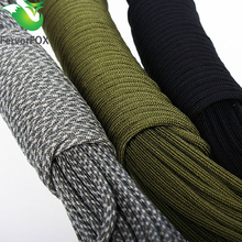 33FT(10M) Paracord Parachute Cord Lanyard Rope Mil Spec Type III 7 Strand Climbing Camping survival equipment(China)
