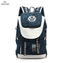MAN KOO MK large backpack bags for mens packs male causal travel big backpacks student book bag personalized backpacks