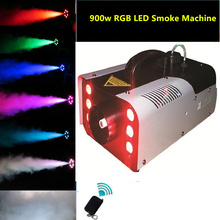 Wholesale high-quality LED 900W Fog Machine Mini 900w RGB LED Smoke Machine Stage Special Effects dj equipment