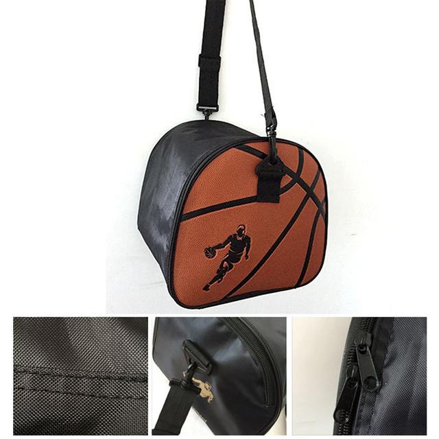 PU Leather Basketball Bag