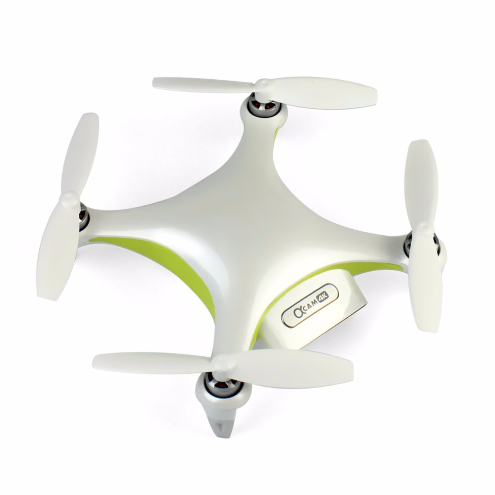 Alpha CAM Mini Smart Camera Drone White UAV with Camera HD 4K Smart Aerial Photography GPS Unmanned Aerial Vehicles