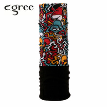 C.gree 2017 New Popular Multi Functional Bandana Winter Fleece Headband Seamless Tubular Magic Bandana Tube Ring Scarf Warmer(China)