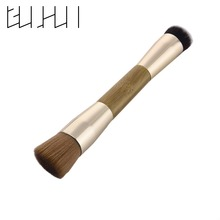 1pc Double Head Bauty Makeup Cometic Brushes Powder Foundation Face Facial Blush Make Up Brush Pinceis de Maquiagem Brushes Tool(China)