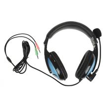 New High Performance Skype Gaming Game Stereo Headphones Headset Earphone With Microphone For PC Laptop Wholesale