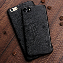 Keysion Case for iphone 6 6s 6Plus 6s Plus Luxury Crocodile Snake Print Leather soft Back Cover for iphone 6s Phone Bags Coque(China)