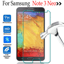 For Samsung Galaxy Note 3 III Lite Neo N7505 7505 Screen Protector Film Tempered Glass For Samsung Note 3 III Lite Neo Case(China)