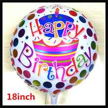 1pcs 18inch Birthday Balloons Foil Balloons Children Gift Birthday/Party/Wedding Celebration Decoration Balloons