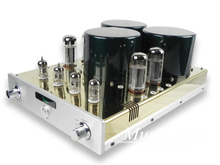 YAQIN MC-10T EL34 x 4 Class A Valve Tube Integrated Amplifier ultra-linear push-pull tube AMP 110V/240V