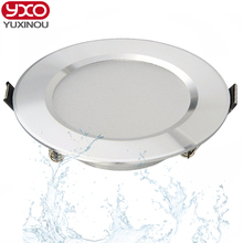 1pcs Dimmable Led Downlights 5W 7W 9W 12W 110V 220V Waterproof LED Ceiling Downlight Lamps Led Ceiling Lamp Home Indoor Lighting(China)