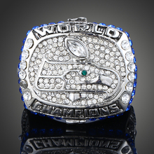 2013 Super Bowls Seattle Seahawks Big Men Ring championship ring Handsome Replica American Football Fans Jewelry Gift J01954(China)
