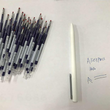 In Shock!0.5mm Blue Color Inks Refill Blue Rods For Xiaomi White Pen Replacement Only For Old Version Xiaomi pen (not for metal)