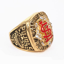 USA size 11 factory price 2006 ST. Louis Cardinals championship ring replica PUJOLS solid ring display ring box drop shipping